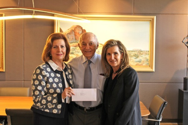 Our thanks to the Stan Perron Charitable Trust